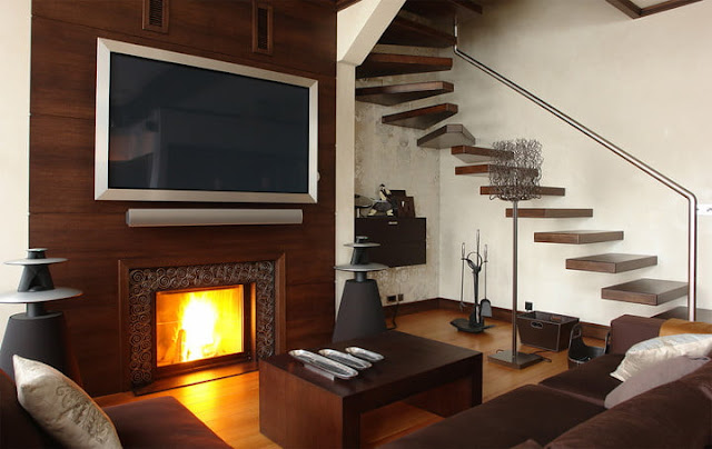 Why you shouldn't mount your TV above your fireplace