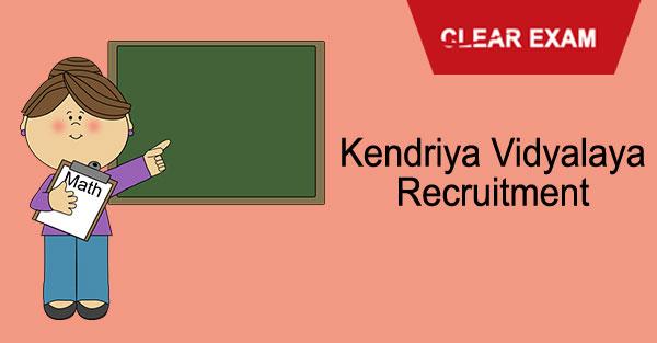 Kendriya Vidyalaya Recruitment