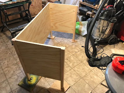 This time around we build the body of the desk