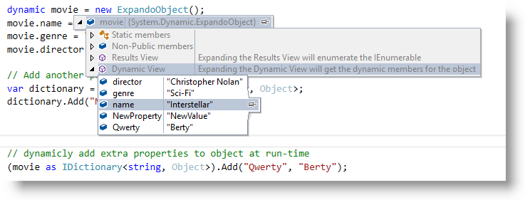 C# Dynamic Types & Expando Object ~ Ocean Airdrop