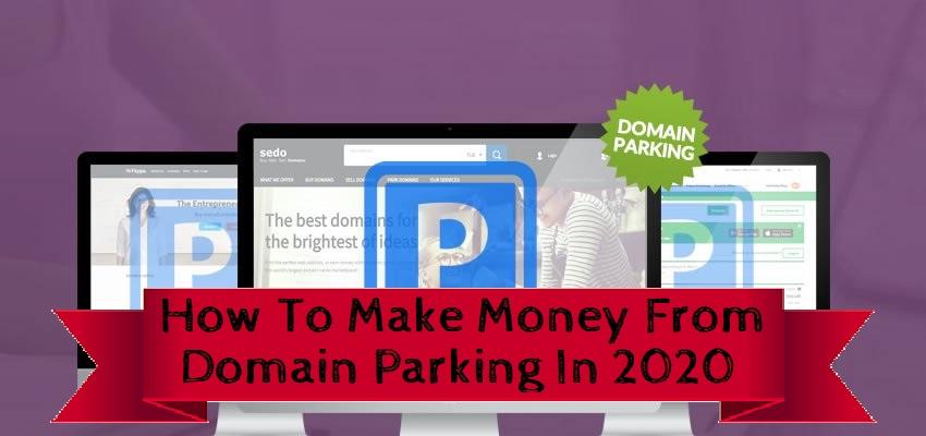 parking domains for profit