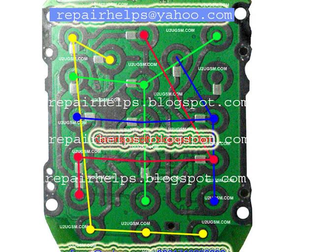 Repair Helps  Nokia 1616 Keypad Solution