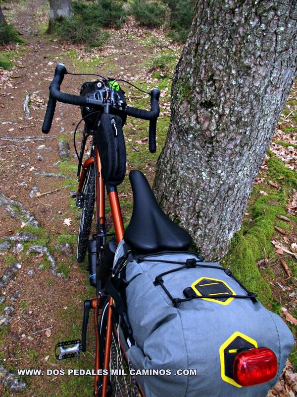 WWW. DOS PEDALES MIL CAMINOS .COM: Bikepacking con una bicicleta gravel