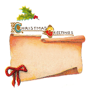 Digital Christmas Tag Design