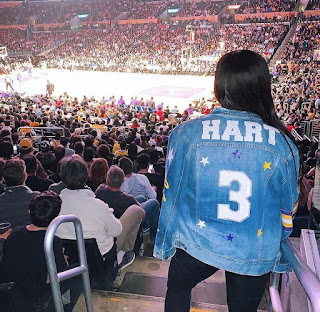 Shannon Wore Josh Hart E S Jacket During His Match