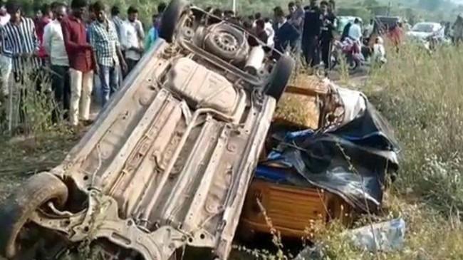 nizamabad-alisagar road accident