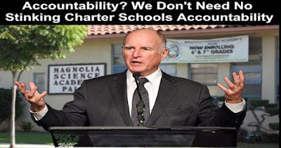 Image result for big education ape jerry brown Charter Schools