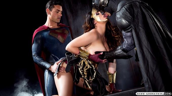 VERSÃO PORNÔ DE BATMAN V SUPERMAN