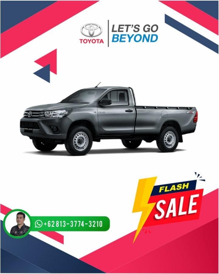 Harga Promo Toyota Hilux Single Cabin Bali