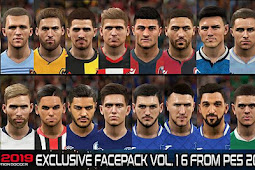 Exclusive Facepack Vol. 16 - PES 2019