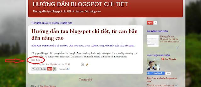 Hướng dẫn tạo blogspot chi tiết, từ căn bản đến nâng cao
