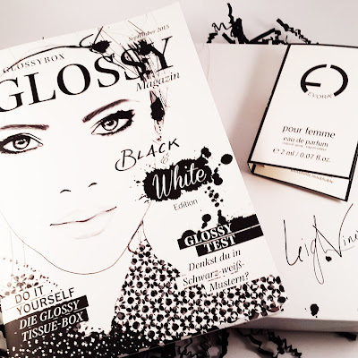 Unboxing Glossybox Black and White Edition September 2015