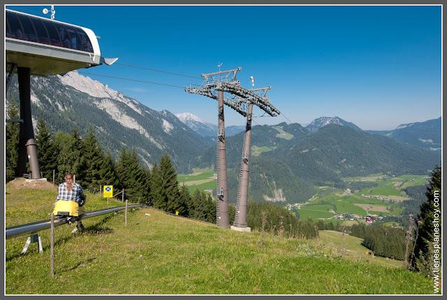 Abtenau Karkogel o trineo de verano (Austria)