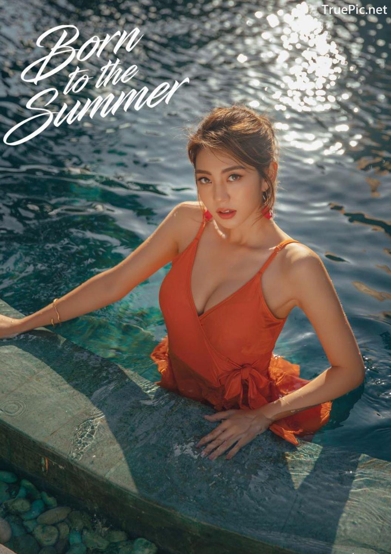 Image Korean Fashion Model - Lee Chae Eun - Sienna One Piece Swimsuit - TruePic.net - Picture-28