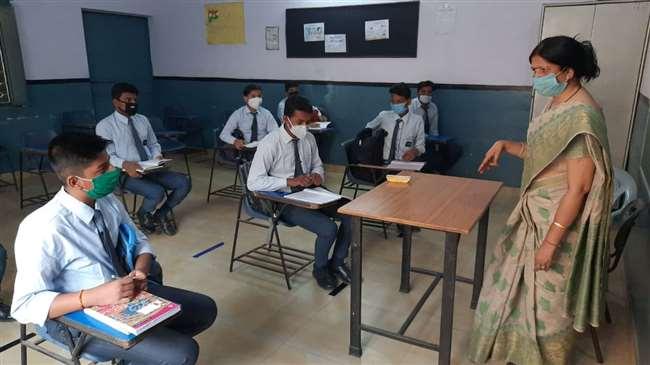 विद्यालयों में अब पांच घंटे बहार: कक्षा नौ से 12वीं के लिए सुबह 10 से दोपहर तीन बजे तक एक पाली में खुले स्कूल