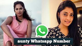 aunty whatsapp number