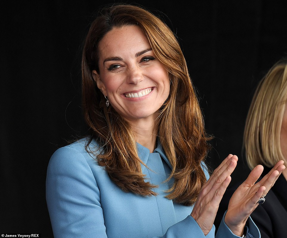 Duchess Kate Christens Polar research ship