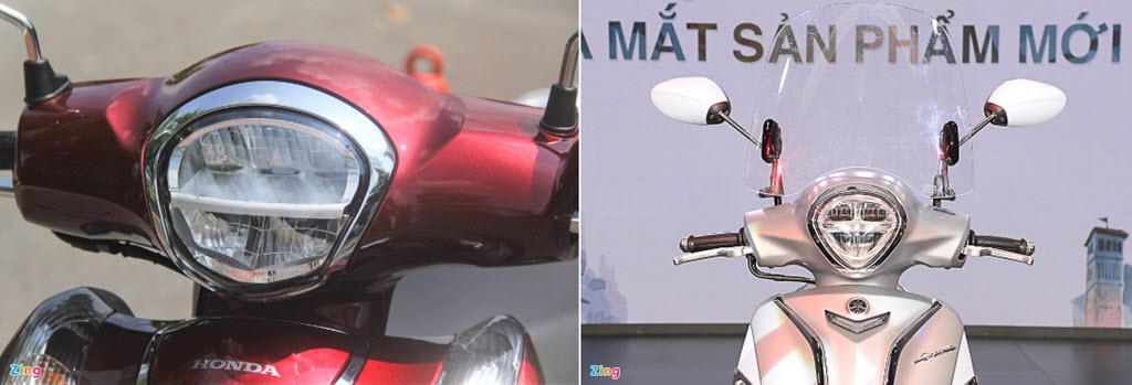 Hơn 50 triệu, chọn Honda SH Mode tiêu chuẩn hay Yamaha Grande cao cấp?
