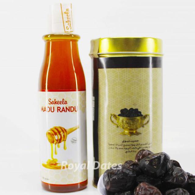 Kurma Ajwa + Madu (Nutrisi Bumil & Janin)