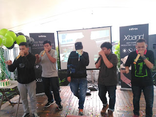 Penampilan Beatbox dari X-Fans