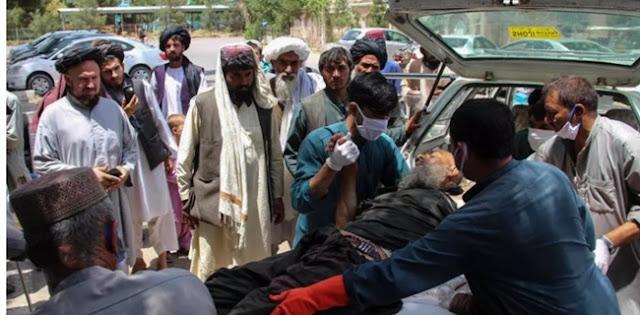 Dihantam Roket Nyasar, 23 Warga Sipil Di Pasar Ternak Afghanistan Tewas Puluhan Luka-luka