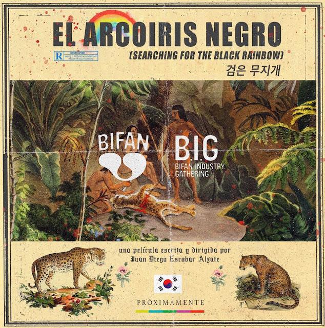 'El Arcoiris Negro': La nueva película de Juan Diego Escobar Alzate seleccionada para el NAFF del BIFAN 2020