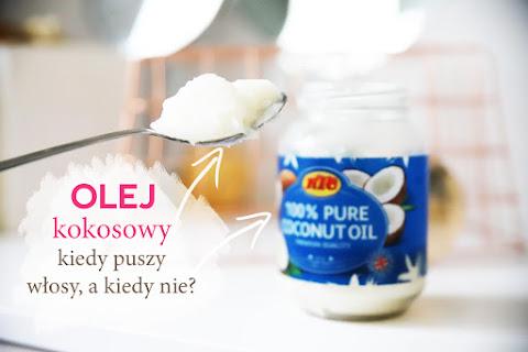 Olej kokosowy na włosy: kiedy puszy, a kiedy wygładza? Olejowanie włosów olejem kokosowym - czytaj dalej »