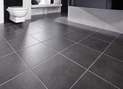 Elegant inspirational black bathroom floor tiles ideas