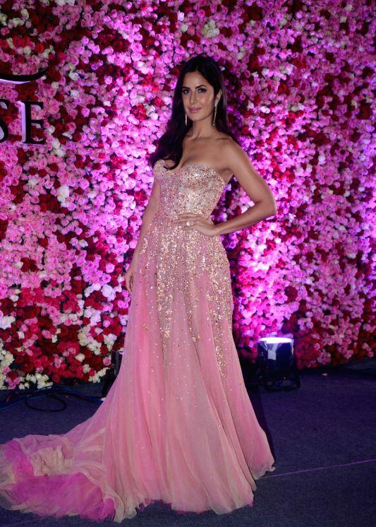 Indian Actress Katrina Kaif At Lux Golden Rose Awards 2017