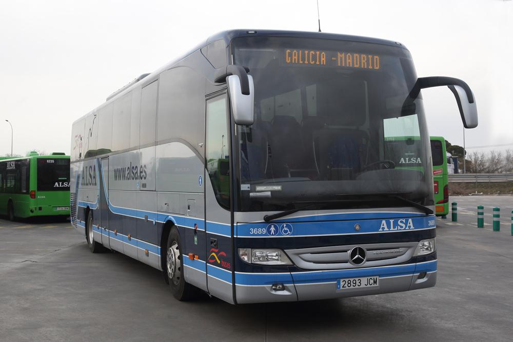 Historias desde lugo tren vs autob s desde lugo a madrid for Camiones usados en asturias