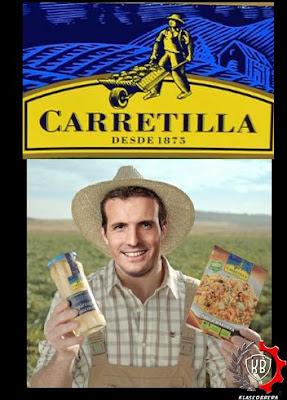 Memes Pablo Casado agricultor
