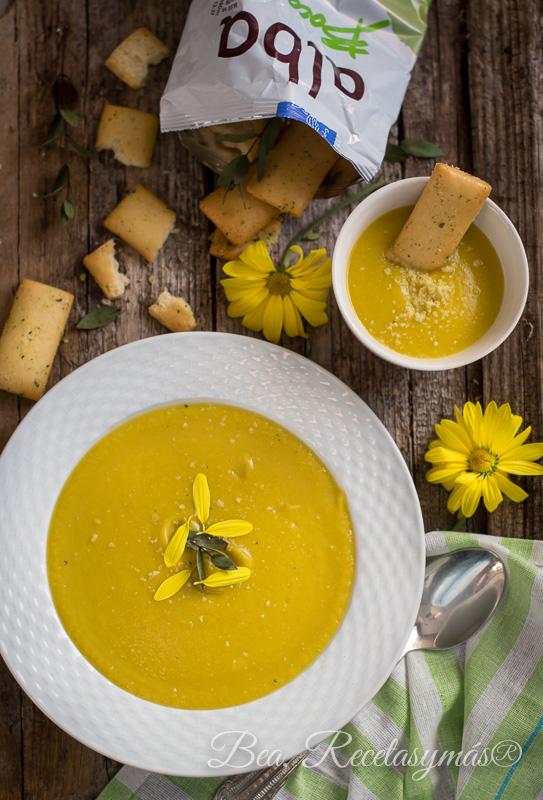 Crema de calabacin con queso de Karlos Arguiñano