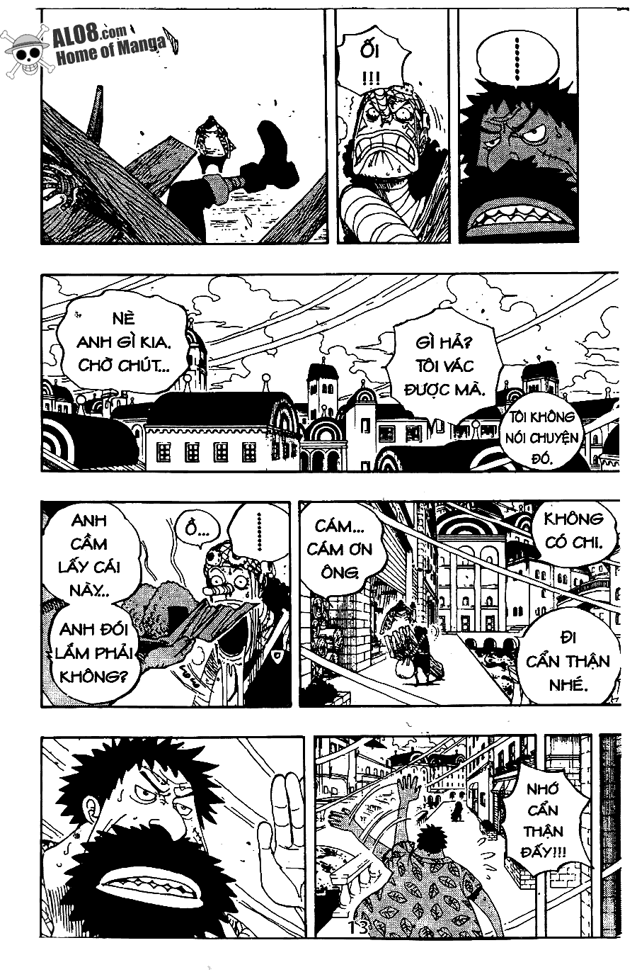 One Piece Chap 341