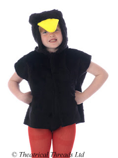 Crow, Blackbird or Pelican One Size Costume from Theatrical Threads Ltd