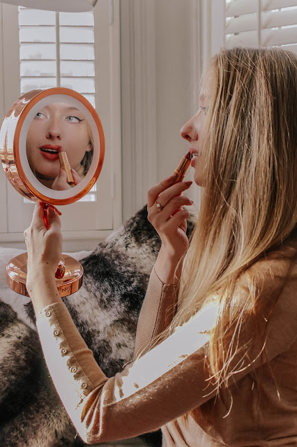 Charlotte Tilbury Pillow Talk Lipstick blog review