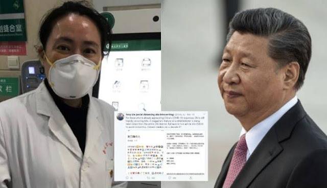 Ai Fen Dokter Pertama yang Ungkap Covid-19 di Wuhan Hilang Misterius