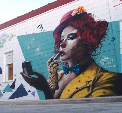 Mural realizado por ICAT