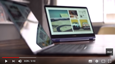 Gambar Video Asus ZenBook Flip S