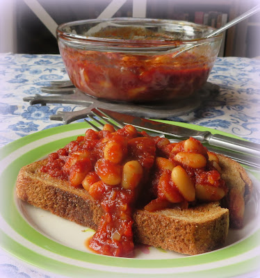 Maple Baked Beans on Toast
