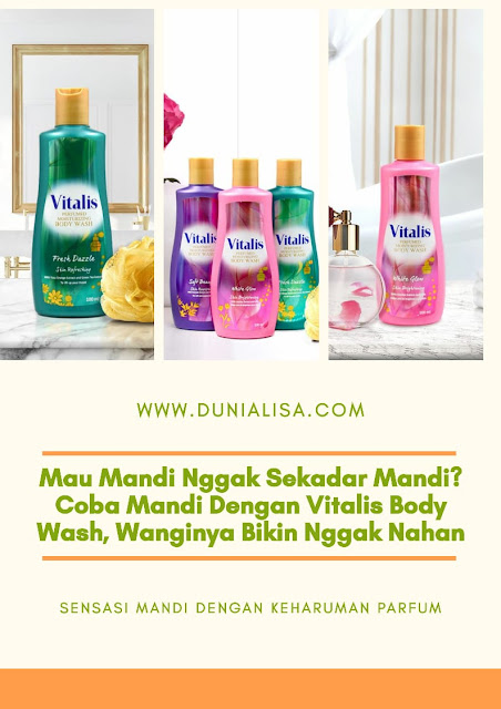 Perfumed Vitalis Moisturizing Body Wash