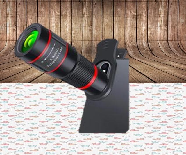 عدسة تقريب مقربة 20x4 K HD أحادي العين تلسكوب الهاتف عدسة الكاميرا ل iPhone Xs XR سامسونج العالمي