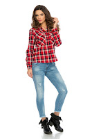 Pantaloni Kelvin Denim • Pantaloni femei