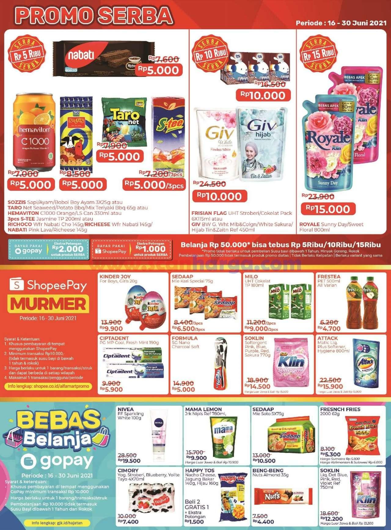 Katalog Promo Alfamart 16 - 30 Juni 2021 3