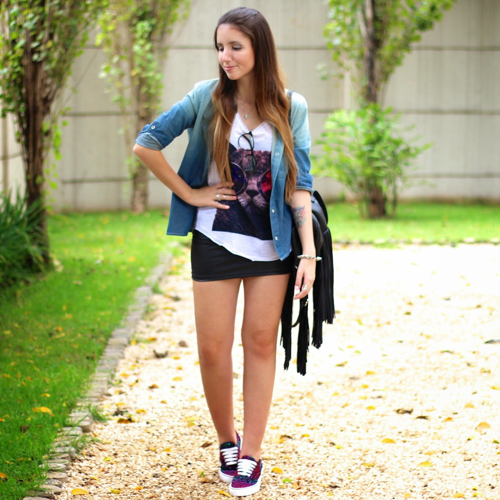 look do dia Capricho Shoes