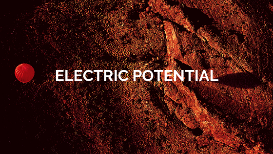 Electric potential of two point charges