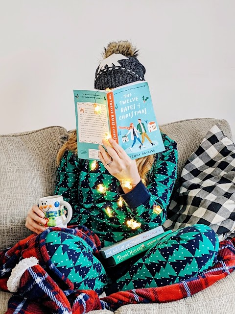 Cozy Christmas Books and PJ's.