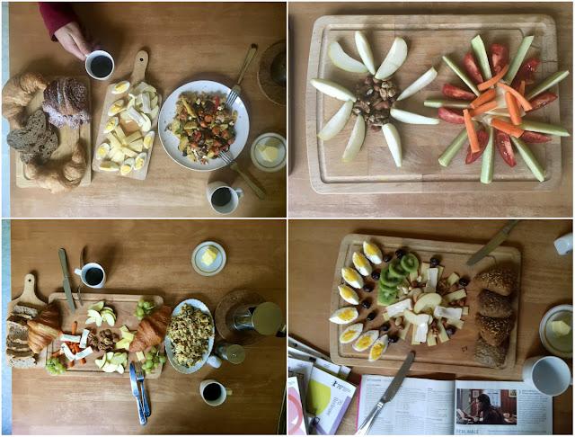 Draufsichten: Frühstücke. ... Mittagesssen wie ein König, Abendessen wie ein Bettelmann.
