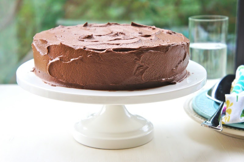 Easy Cake No Icing: Seasaltwithfood: Chocolate Cake With Icing