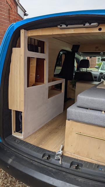 vw caddy campervan
