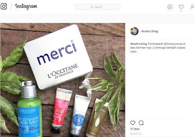 L'Occitane en provence Body lotion (REVIEW)